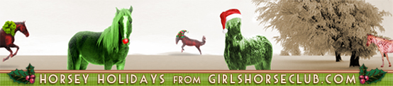 Horsey Holidays from Girls Horse Club